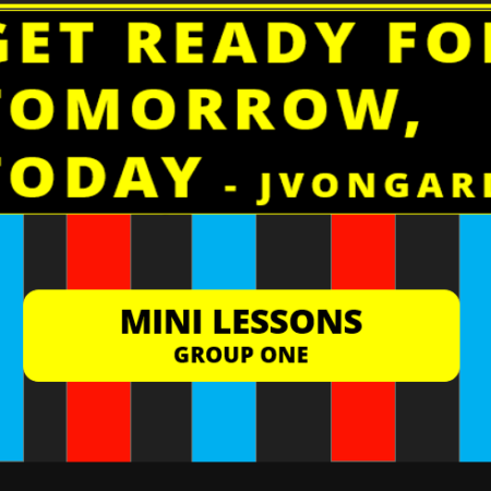 Mini Lessons Group I